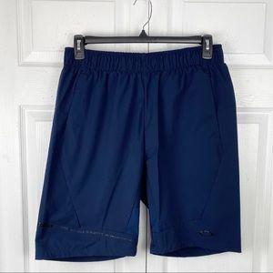 Oakley Navy Performance Fit Elastic Waist Shorts